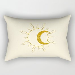 Sun and Moon Rectangular Pillow