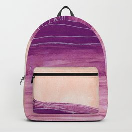 Rolling On Backpack