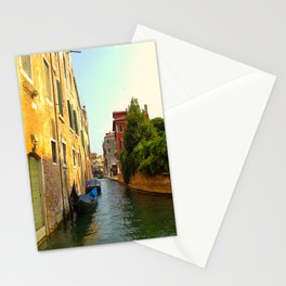 Alleyways and Payphone Calls Stationery Cards