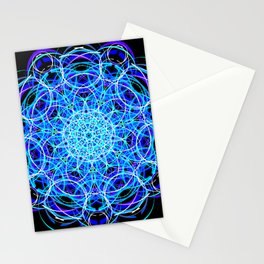 Royal Molecule Stationery Cards