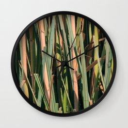 Cortaderas Wall Clock