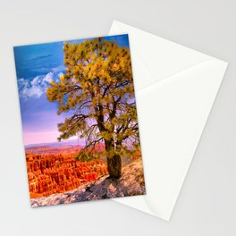 Ponderosa Pine. Bryce Canyon National Park, Utah Stationery Cards