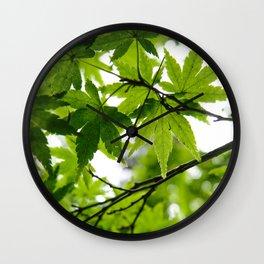 Kyoto Maple Wall Clock