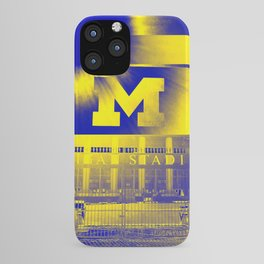 Michigan Stadium iPhone Case