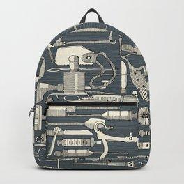 fiendish incisions metal Backpack