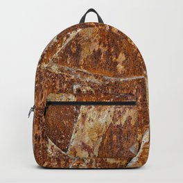 Abstract rusty background Backpack