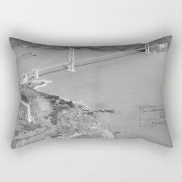 California San Francisco NARA 23935549 Rectangular Pillow