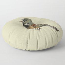 the noisy one Floor Pillow