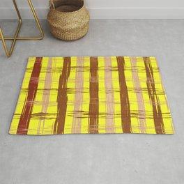 Abstract checks pattern Rug