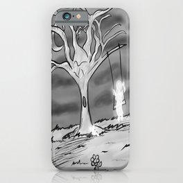 A Haunted Tree iPhone Case