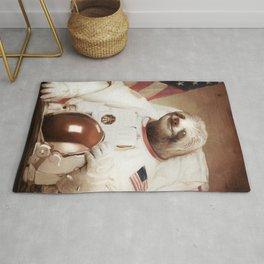 Astronaut Sloth Rug