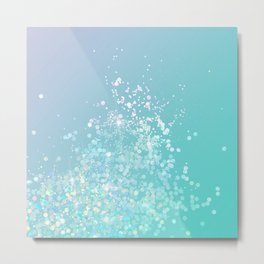 Sparkle Splash  Metal Print