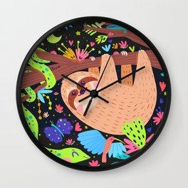 Bosque tropical Wall Clock