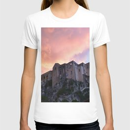 Tropea In Calabria At Sunset T-shirt