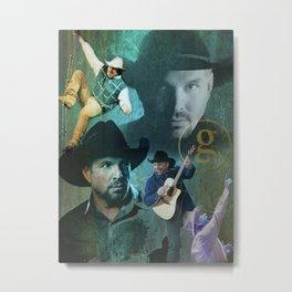 Garth Brooks | Garth Brooks Art Print Metal Print