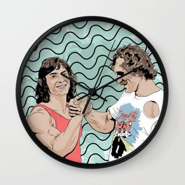 Wolfgang Gullich and Kurt Albert share a moment together in their heyday.... RIP Wall Clock