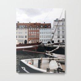 Copenhagen Mood Metal Print