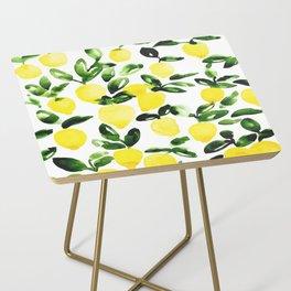 Summer Lemons Side Table
