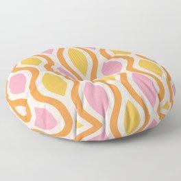 Mid Century Modern  Ogee Pattern 746 Floor Pillow