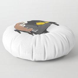 Sloth Piano Player Design Cute Piano Keyboard Music Teacher Print Floor Pillow