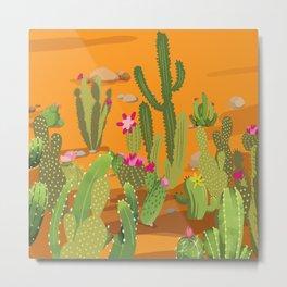 Cactus Variety 5 Metal Print
