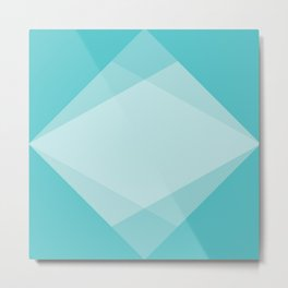 geometric 54 water sigil variaton 1 Metal Print
