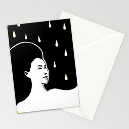 K Olsen Rain Stationery Cards