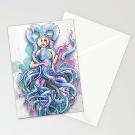 Octupus Dress Stationery Cards
