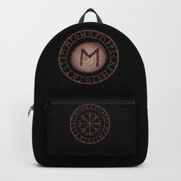 Ehwaz - Elder Futhark rune Backpack