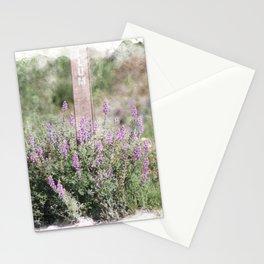 Cluster of Purple Desert Lupine Coachella Valley Wildlife Preserve Stationery Cards