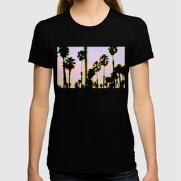 California Dreaming Palm Trees Sunset T-shirt