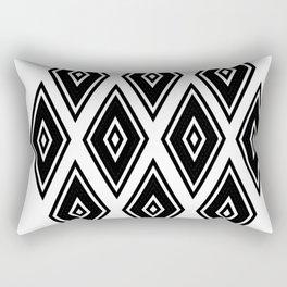 Linear & Modern Argyle Diamonds Rectangular Pillow