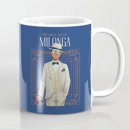 Vintage Great Gatsby Art Deco Tango Milonga Gentleman Dancer Coffee Mug