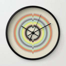 Center Yourself (Etude Circulaire n° 3) Wall Clock