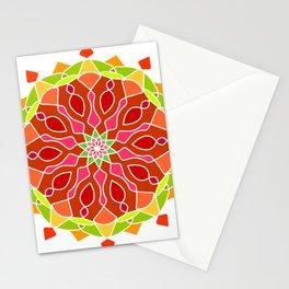 Vintage Mandala Flower Stationery Cards