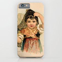 Spanish Girl Maud Humphrey iPhone Case