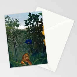Henri Rousseau - The Repast of the Lion Stationery Cards