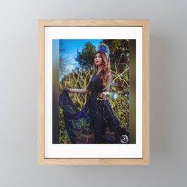 Constellations Queen Framed Mini Art Print