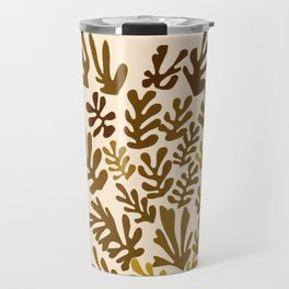 "Collage of Leaves, #7 ""Bayou"" by Henri Matisse Travel Mug"
