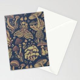 Midnight Fungus Stationery Cards