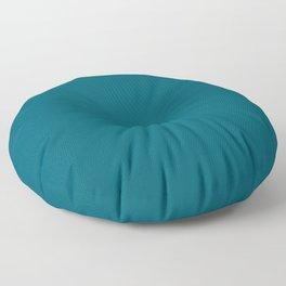 Best Seller Sherwin Williams Trending Colors of 2019 Oceanside (Dark Aqua Blue) SW 6496 Solid Color Floor Pillow