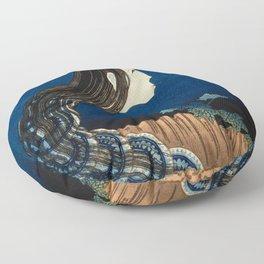 Katsushika Hokusai - The Plate Mansion Floor Pillow