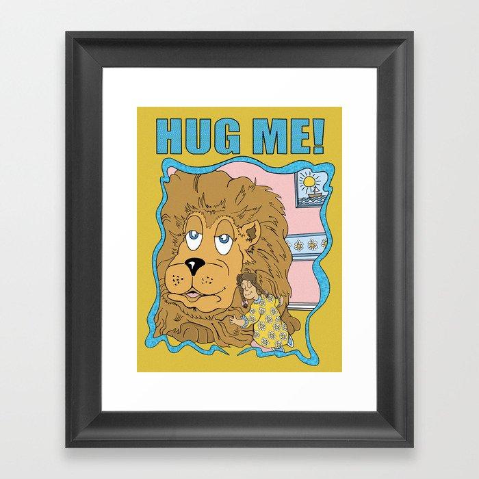 Hug Me! Gerahmter Kunstdruck