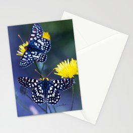The Checkerspot Couple Stationery Cards