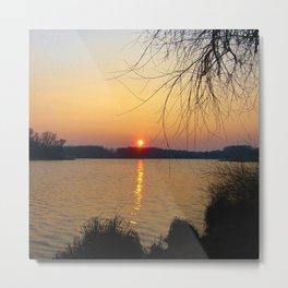Sunset 1 Photography Metal Print