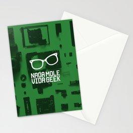 Nada Mole Vida Geek Poster Branding Stationery Cards