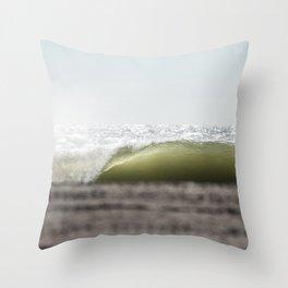 East Coast Backlit Throw Pillow