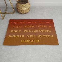 Magic carpet, prayer rug, play mat, citizen rug n°2 Rug