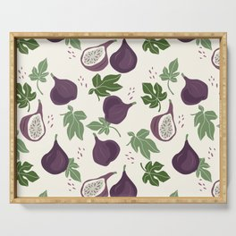 Fig Pattern Serving Tray