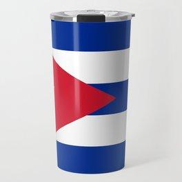 Flag of Cuba Travel Mug